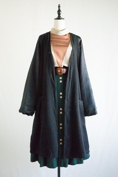 Burberry Made In England Black Liner Coat