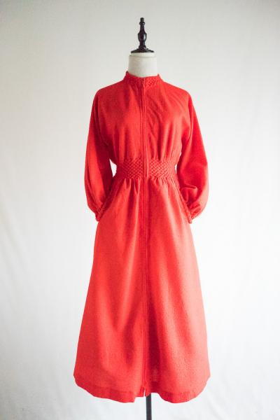 Made In Swiss Red Maxi Dress