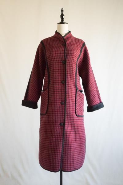 Made In UK Reversible Design Coat